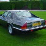 Jaguar XJS V12 rear