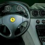 Ferrari 456 interior