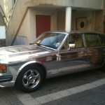 Bentley Turbo chrome